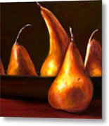 Port Au Pear Metal Print