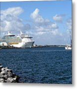Port Canaveral In Floirda Metal Print