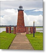 Port Of Kissimmee Lighthouse In Central Florida Metal Print