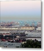 Port Of Los Angeles 0568 Metal Print