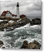 Portlandhead Lighthouse Metal Print