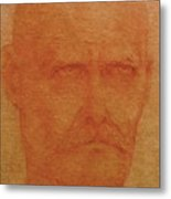 Portrait Of An Artist Metal Print