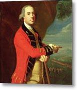 Portrait Of General Thomas Gage Metal Print