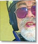 Portrait Of Lou Metal Print