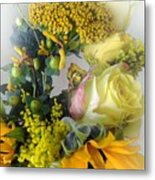 Posies Picturesque Metal Print
