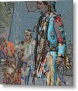 Pow Wow Competition Metal Print