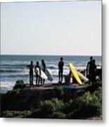 pr 129 - Santa Cruz Surfers Metal Print