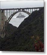 pr 170 - Bixby Bridge II Metal Print