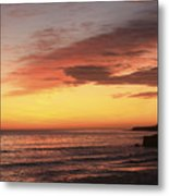 pr 239 - Sunset at Santa Cruz Metal Print