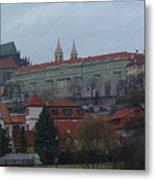 Prague Castle In Prague Czech Republic Metal Print