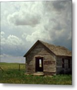 Prairie Church Metal Print