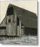 Prairie Overlook Metal Print