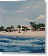 Praminade At Lido Beach Metal Print