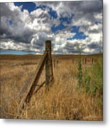 Prarie Sky Metal Print by Peter Tellone