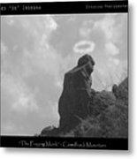 Praying Monk - Arizona - Poster Print Metal Print