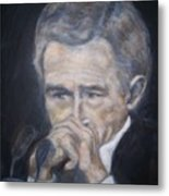 President  George Bush Metal Print