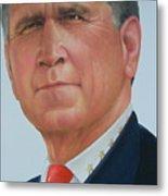President George W. Bush Metal Print