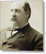 President Grover Cleveland Metal Print