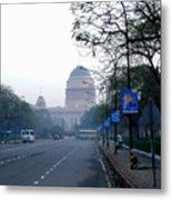 President's House At New Delhi Metal Print
