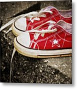 Princess Shoes Metal Print