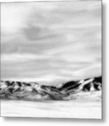 Promontory Mountains 2 Metal Print