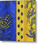Provence Colors Metal Print
