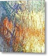 Pueblo Downtown-river Grasses 2 Metal Print
