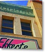 Pueblo Downtown-screened Effects Metal Print