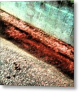 Pueblo Downtown--sweeny Abstract Metal Print