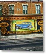 Pueblo Downtown--used Cars Metal Print