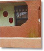 Pueblo Hacienda 8 Metal Print