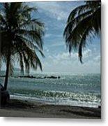 Puerto Rican Beach Metal Print