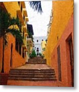 Puerto Rico Ally Way Metal Print