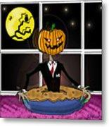 Pumpkin Pie Metal Print
