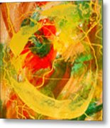 Punkin Patch Metal Print