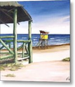 Punta Del Diablo S Morning Metal Print