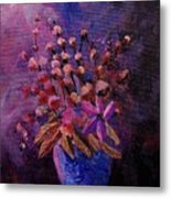 Puple Bunch 450130 Metal Print