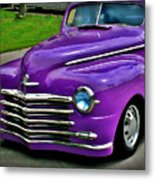 Purple Cruise Metal Print