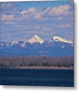 Purple Mountains Majesty Metal Print by Brent Parks
