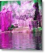 Purple Siren Metal Print