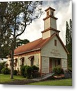 Pu'ula Congregational Church - Nanawale Metal Print