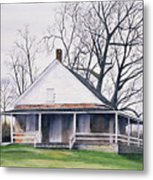 Quaker Meeting House Metal Print