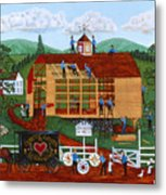 Quakers Acres Metal Print