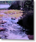 Quebec River Metal Print