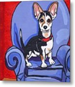 Queen Lucy Metal Print by Laura Brightwood