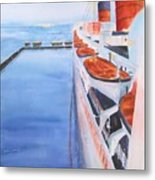 Queen Mary From The Bridge Metal Print