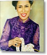 Queen Sirikit2 Metal Print