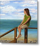 Quiet Moment Metal Print by Roseann Gilmore
