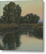 Quiet Water Morning Metal Print