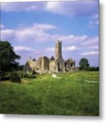 Quin Abbey, Quin, Co Clare, Ireland Metal Print by The Irish Image Collection